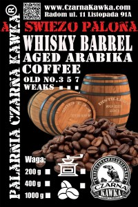 Whisky Barrel kawa z beczki po whisky OLD No.3