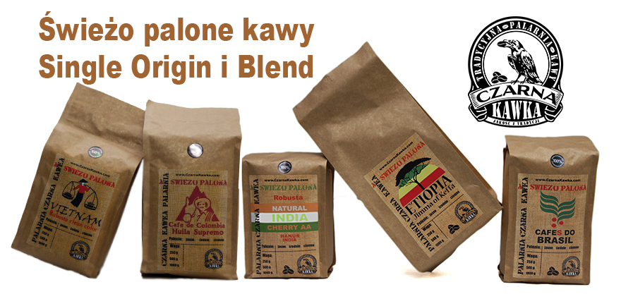 Kawy Single Origin i Blend
